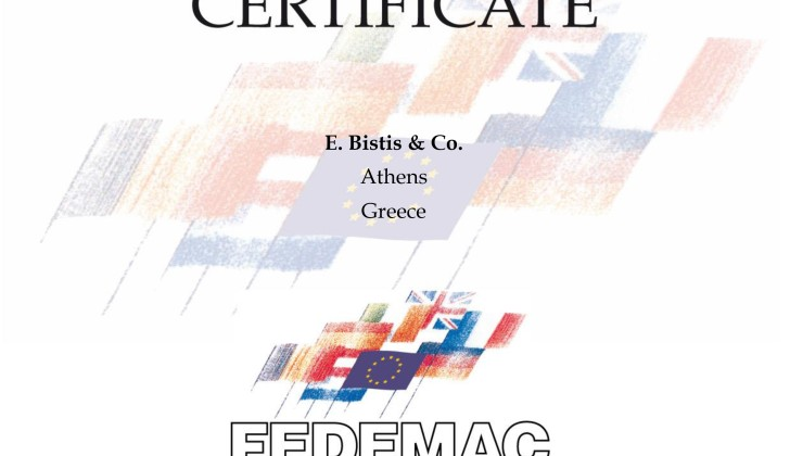 03_FEDEMAC-CERTIFICATION-2016_Bistis